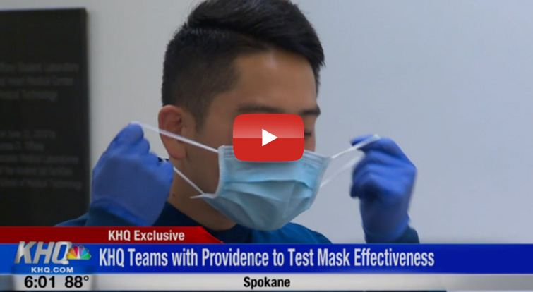 KHQ investigates the effectiveness of wearing a mask versus no mask